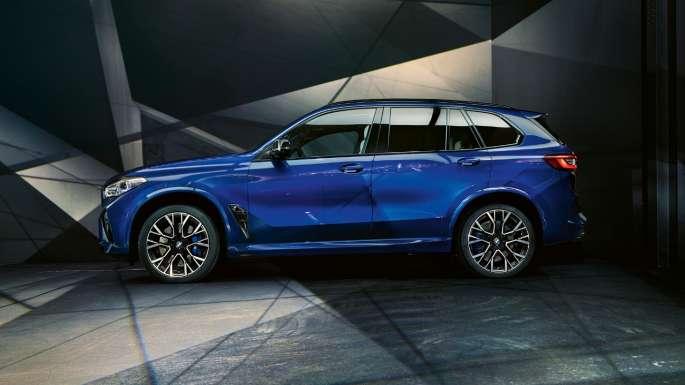 BMW X5 M Competition Ansicht von der Seite