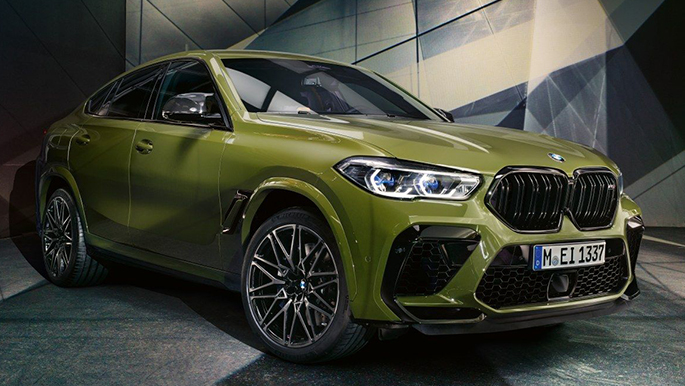 BMW X6 M Competition Laserlicht